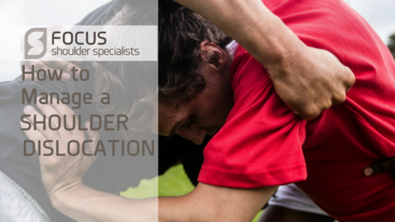 How to Manage a Shoulder Dislocation
