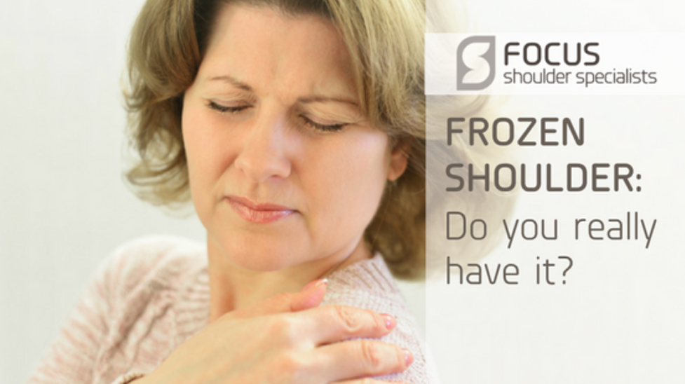 Frozen Shoulder: Do You Really Have It?