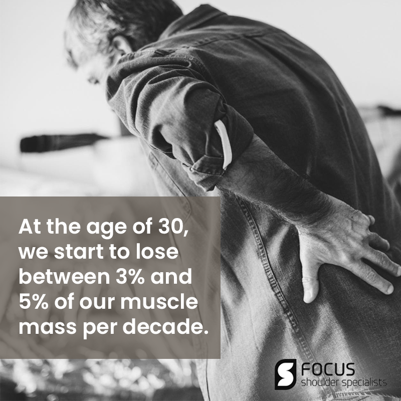 Sarcopenia Shouldn't Just Let It Take Over Our Bodies, Right?