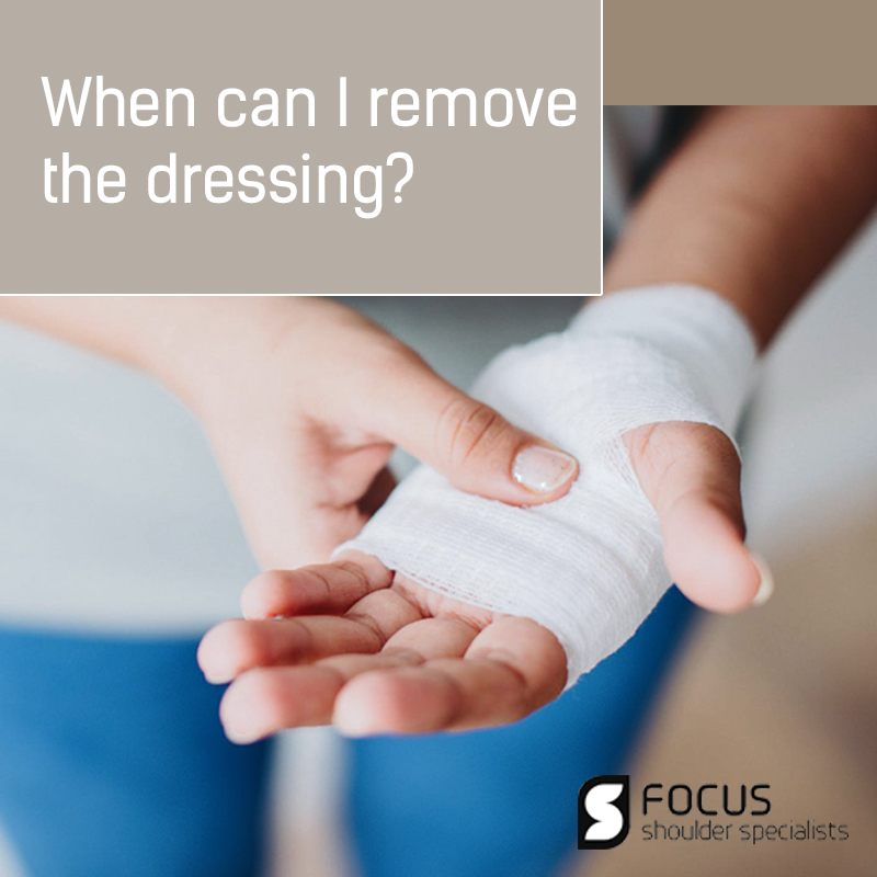 When Can I Remove The Dressing?