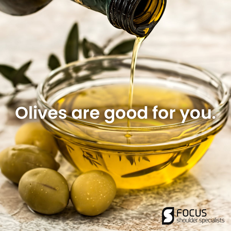 Olives Are Good For You