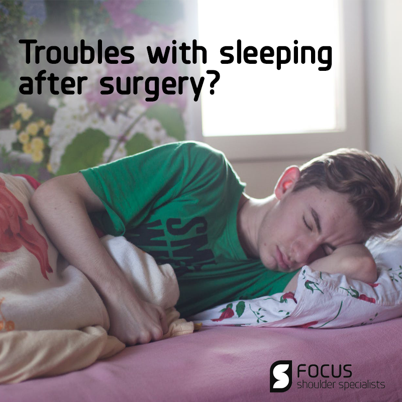 Troubles with Sleeping After Surgery?