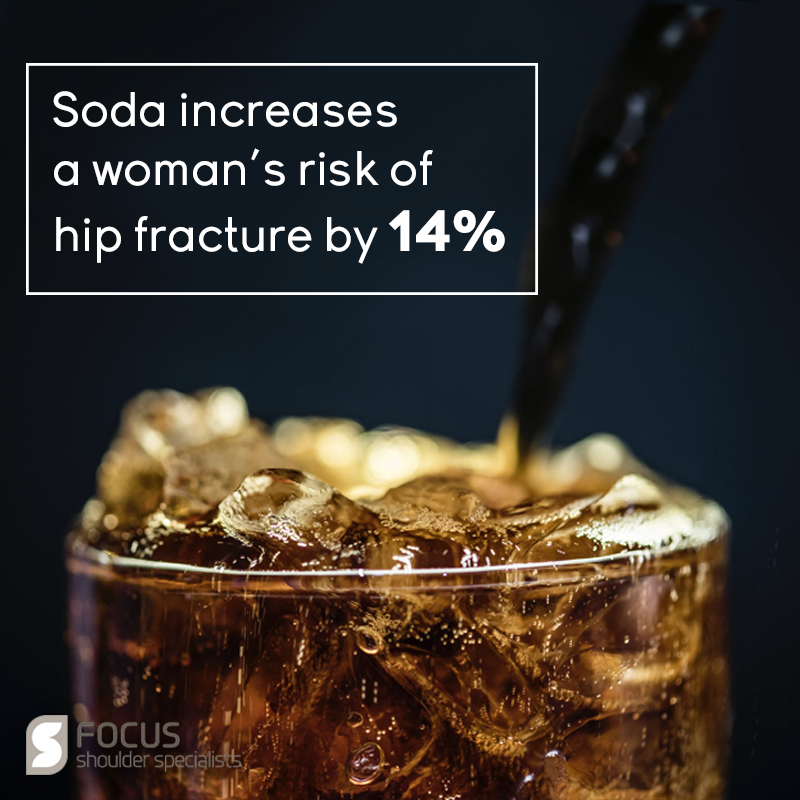Soda Increases A Woman's Risk Of Hip Fracture By 14%
